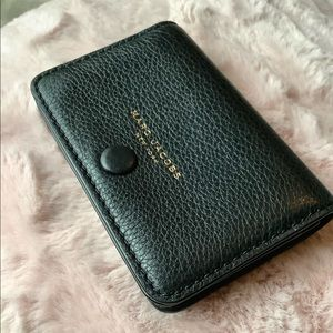 Empire city business leather card case